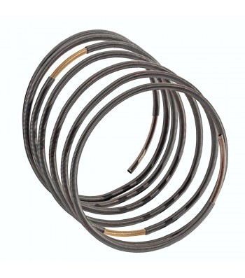 MOLL, STAINLESS STEEL MEMORY ESPIRAL BRACELET. Original Handcrafted Jewel - VOBMOLLTB02 - Original Version