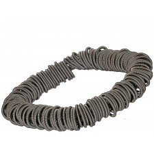 MOLL, STAINLESS STEEL ELASTIC BRACELET. Original Handcrafted Jewel - VOBMOLL01 - Original Version