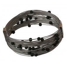 TELAR2-LAVA, STAINLESS STEEL BRACELET. Original Handcrafted Jewel - VOBTELAR2LA01 - Original Version