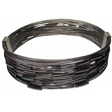 TELAR2-TUBE, STAINLESS STEEL BRACELET. Original Handcrafted Jewel - VOBTELAR2TB01 - Original Version