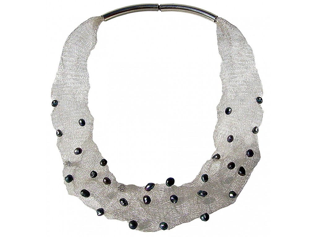MESH-PERLA COLLAR TUBULAR Artesanal - VOCMESHSPER01 - Version Original